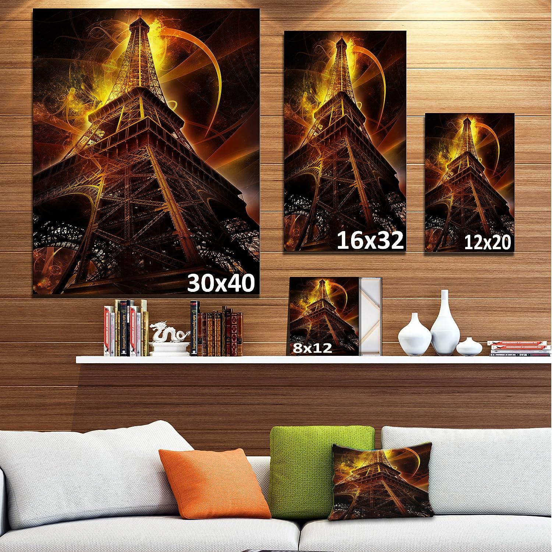 Amazon.de: Art-design Design Art Paris Eiffelturm auf Fantasy ...