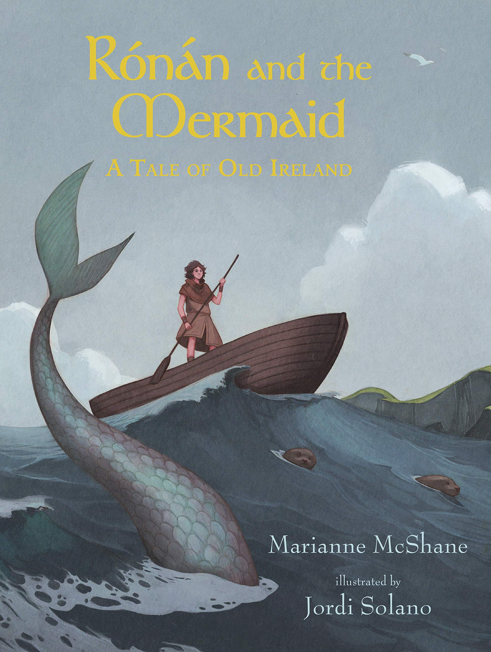 Rónán and the Mermaid: A Tale of Old Ireland: McShane, Marianne ...