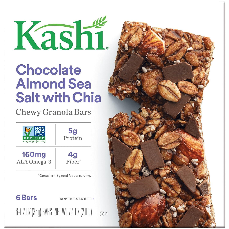 Kashi Chewy Granola Bars, Chocolate Almond and Sea Salt with Chia ...
