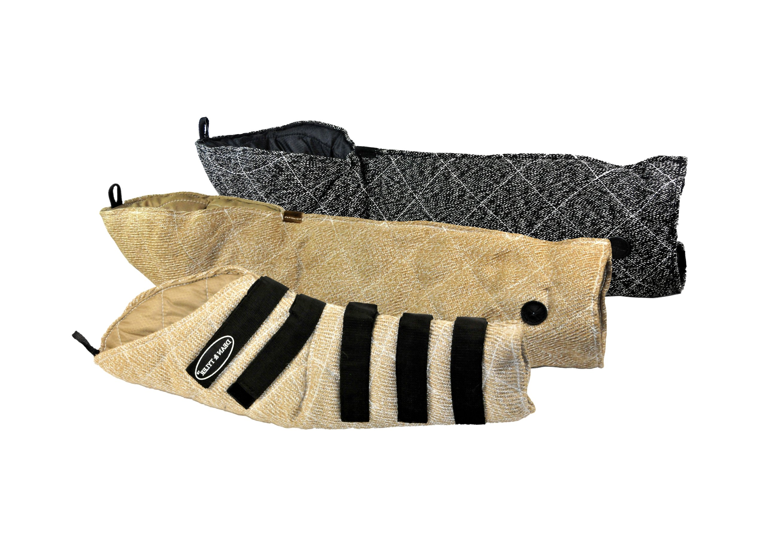 Dean & Tyler 3-Piece Pro Bundle Set, Includes French and Jute Full Arm Bite Sleeve/Hidden Sleeve for Training Intermediate Dogs by Dean & Tyler