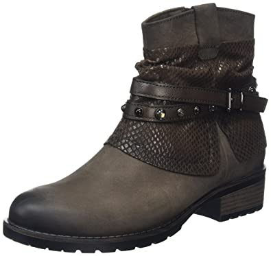 a9b24751124 Amazon.com | Tamaris Women's Parai 1-1-25311-27 Cigar Combo Boot ...