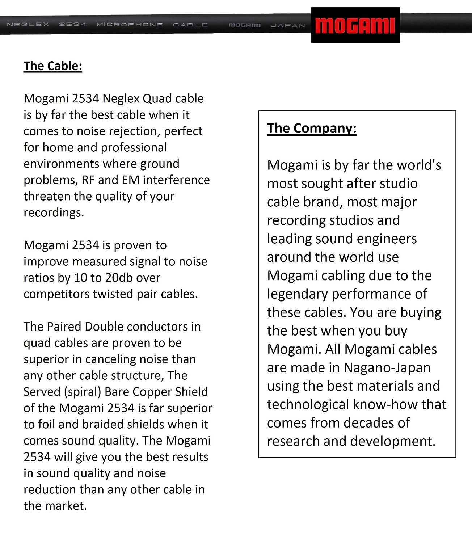 /Star Quad cavo di connessione audio ad alta definizione e neutrik-rean Nys oro connettori RCA/ /Made with Mogami 2534/ 30/cm cavo RCA pair/ /direzionale design per migliori prestazioni