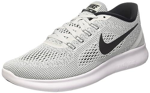 huge discount 57aeb a25dc Nike Damen Free RN Sneakers Weiß (WhiteBlack-Pure Platinum 101) 35.5