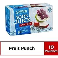 4-Pack Capri Sun 100% Fruit Punch Juice, 60 Fl. Oz
