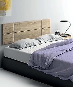 cabezal cama de matrimonio de gran grosor 32mm color cambrian con herrajes para colgar incluidos - Cabezal De Cama