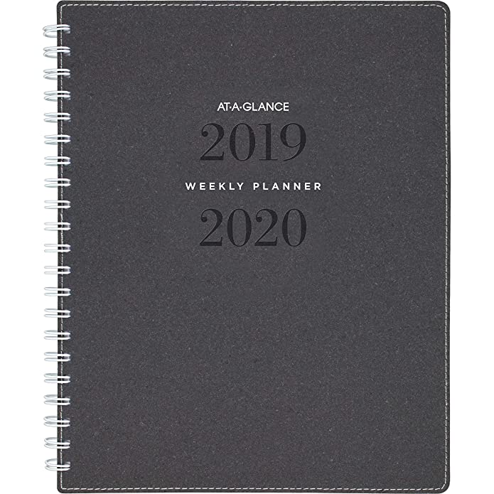 2019-2020 At-A-Glance 8 3/4u0022 x 11u0022 Academic Weekly/Monthly Planner 24375090