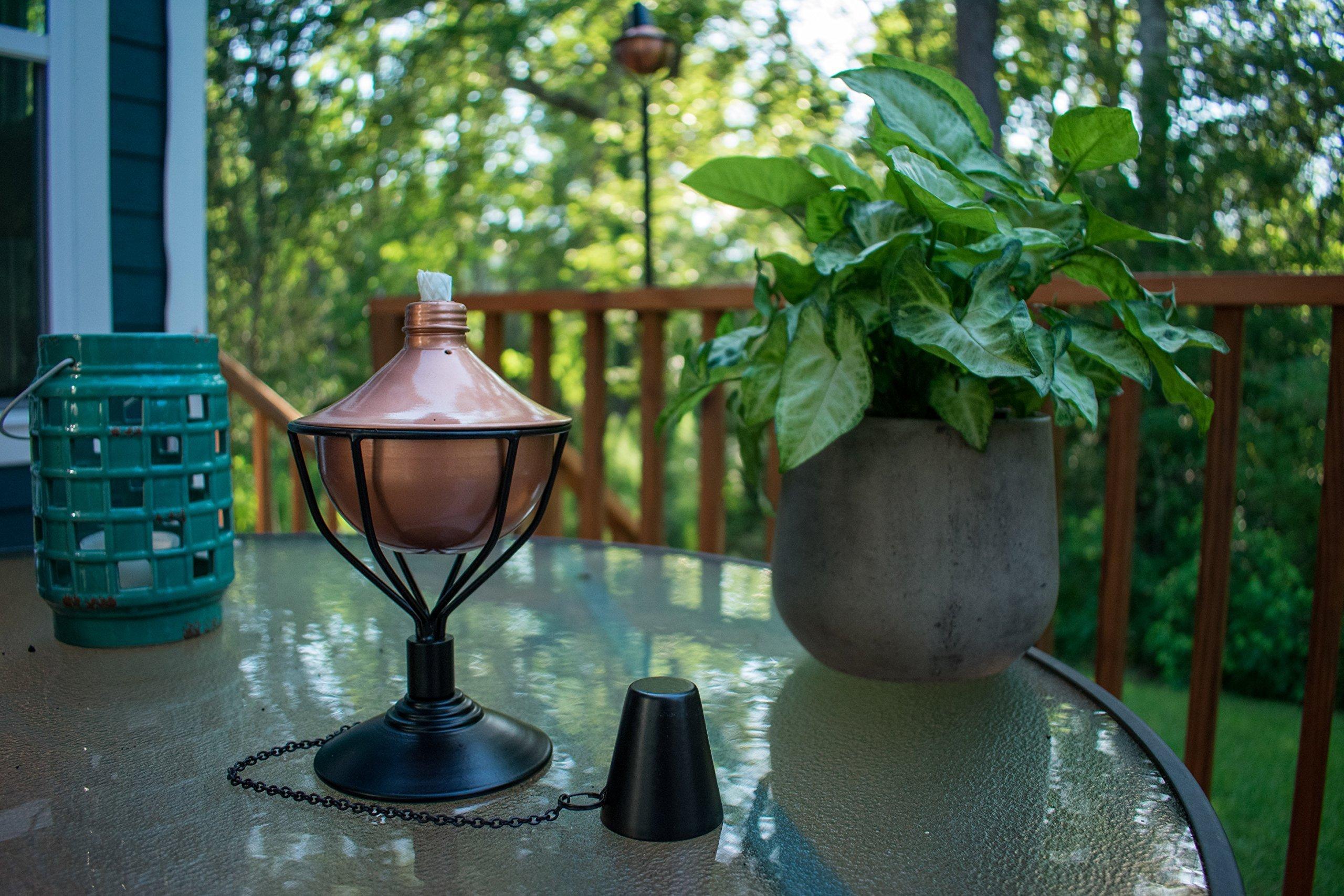 Dusq All-In-One Citronella Garden Torch Modern Copper Finish by Dusq (Image #5)