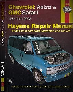 amazon com haynes repair manual for chevy astro van number 24010 rh amazon com 1998 Chevy Astro Van 1994 Chevy Astro Van