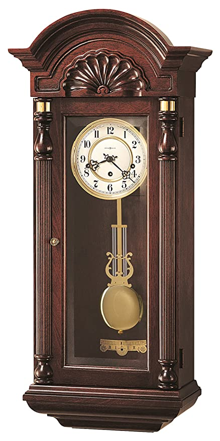 Amazon Com Howard Miller 612 221 Jennison Wall Clock Home Kitchen