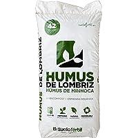 Suelo Fértil Humus de Lombriz 42l (25kg)