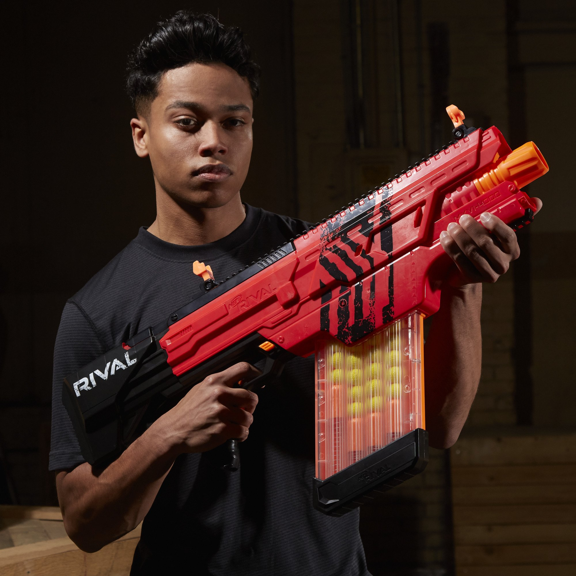 Nerf Rival Khaos MXVI-4000 Blaster (Red) by NERF (Image #15)