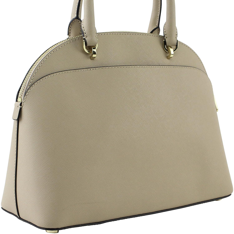 873d8bd283469 Amazon.com  MICHAEL Michael Kors Women s Emmy Large Dome Saffiano Leather  Satchel