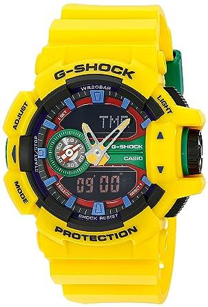 efbb355ba9c5 Amazon.com: Casio G-Shock Multicolor Dial Resin Quartz Men's Watch ...