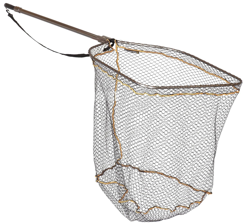 Savage Gear Full Frame Rubber mesh Landing Net XL 70x85cm Unterfangkescher zum Raubfischangeln Kescher zum Hechtangeln