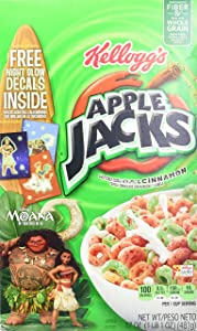Apple Jacks Cereal, 17-Ounce Boxes (Pack of 12)