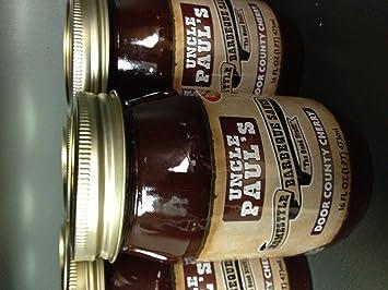 Uncle Paulu0027s Door County Cherry BBQ Sauce & Amazon.com : Uncle Paulu0027s Door County Cherry BBQ Sauce : Barbecue ...