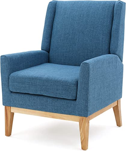 Archibald | Mid Century Modern Fabric Accent Chair |