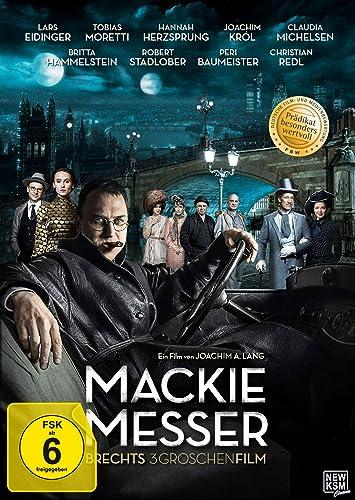 Cover: Mackie Messer - Brechts Dreigroschenfilm 1 DVD (circa 125 min + ausführliches Beiheft)