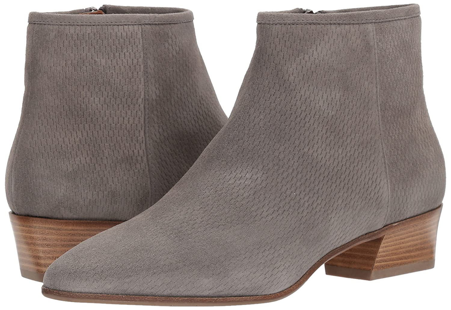 Aquatalia Women's Fire Perforated Suede Ankle Boot B071X9S9SM 9.5 M M US|Grey