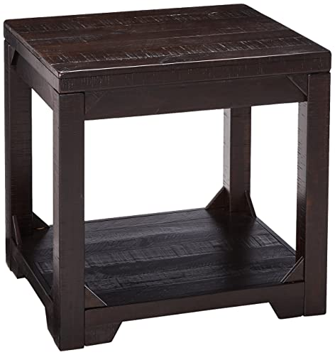 Signature Design by Ashley Rogness Rectangular End Table Rustic Brown