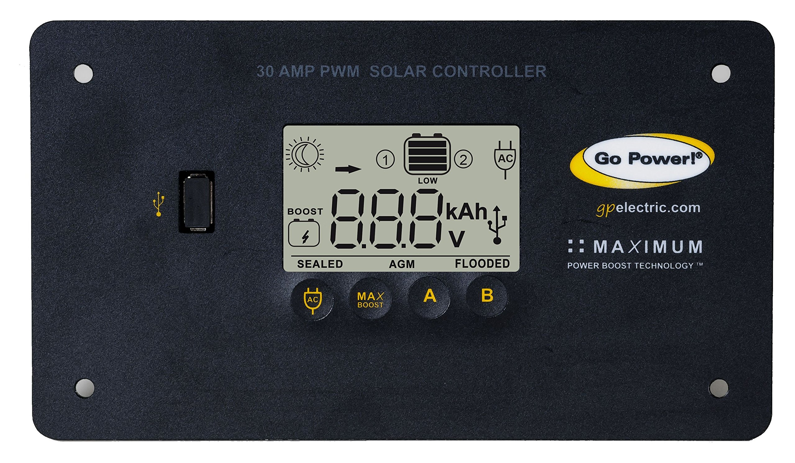 Go Power! GP-PWM-30 30 Amp Solar Regulator