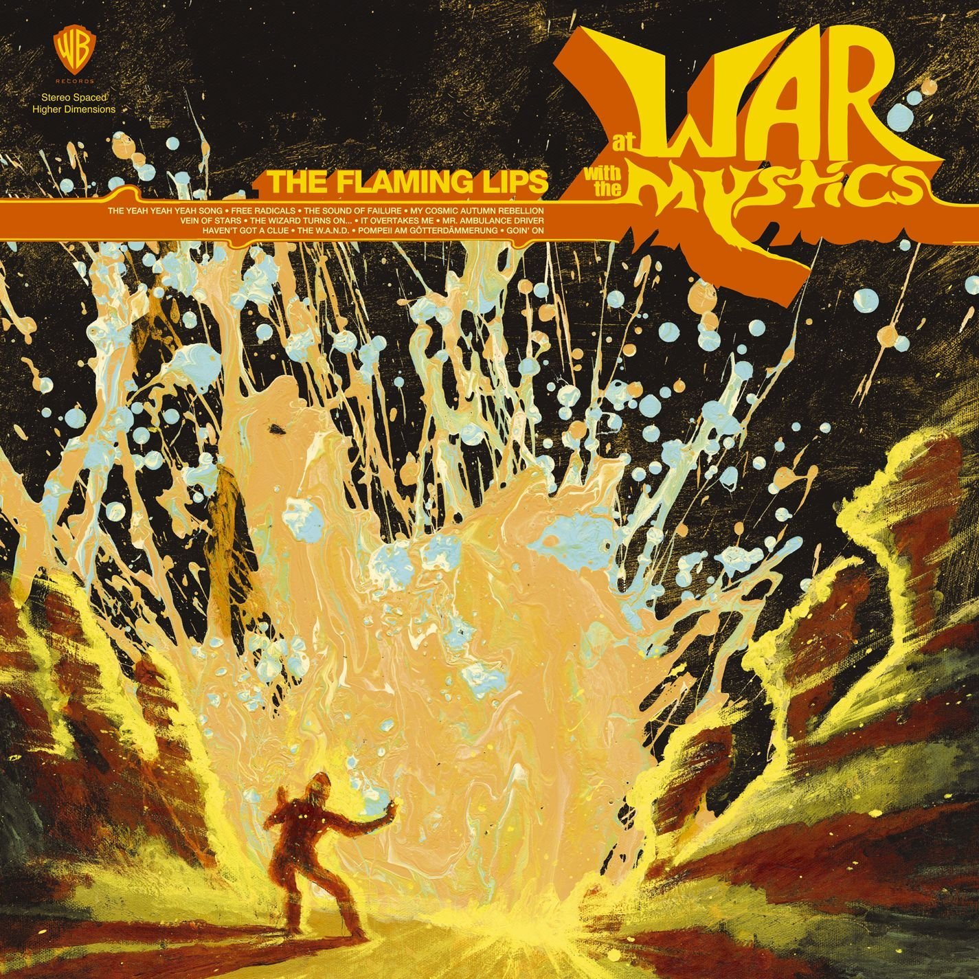 AT WAR WITH THE MYSTICS(COLORE [Vinyl] by Warner Bros
