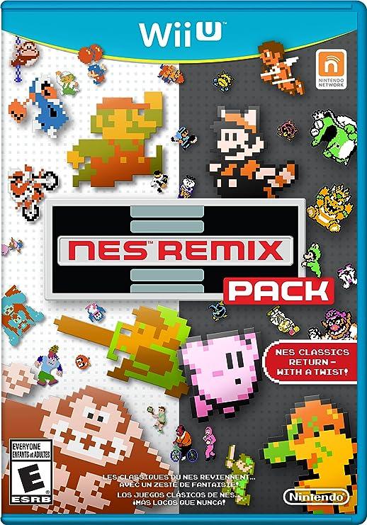 Nintendo NES Remix Pack - Juego (Wii U, Acción / Aventura, E (para ...
