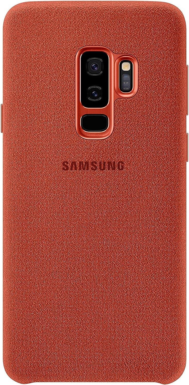 Samsung Ef Xg965ar Alcantara Schutzhülle Für Galaxy S9 Elektronik