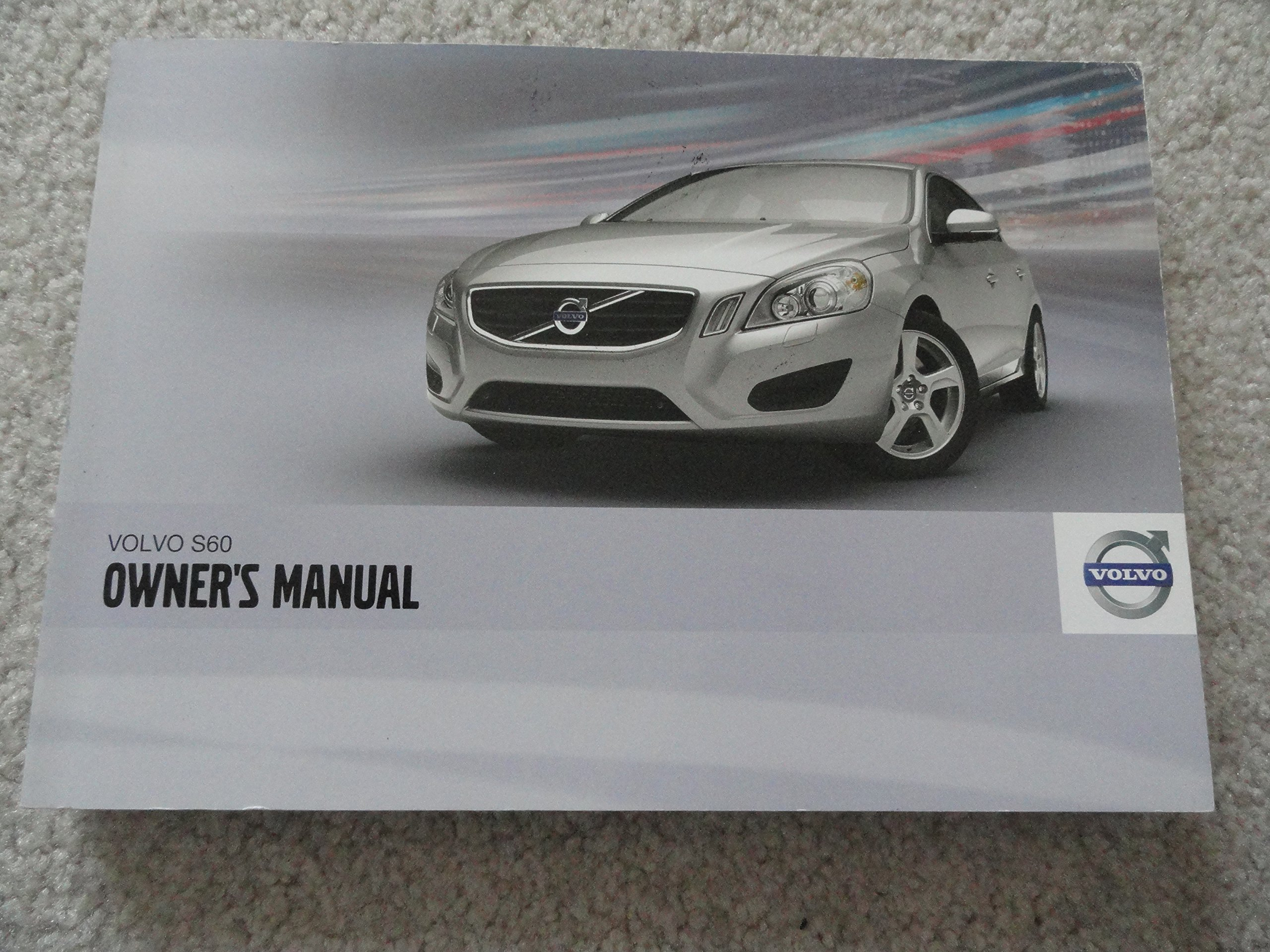 2012 volvo s60 owners manual amazon com books rh amazon com Volvo V60 Volvo S60