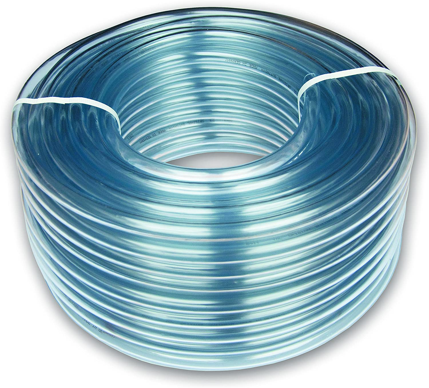 Tubo de PVC transparente 5 x 8 mm, 5 m de largo