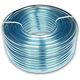 16mm ID x 19mm OD Clear PVC Tubing Pipe Hose 5 Metres
