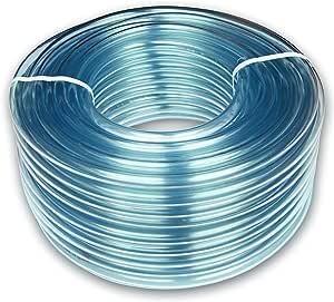 1,6 x 1,9 cm, PVC, 5 m Tubo transparente PCP16//19