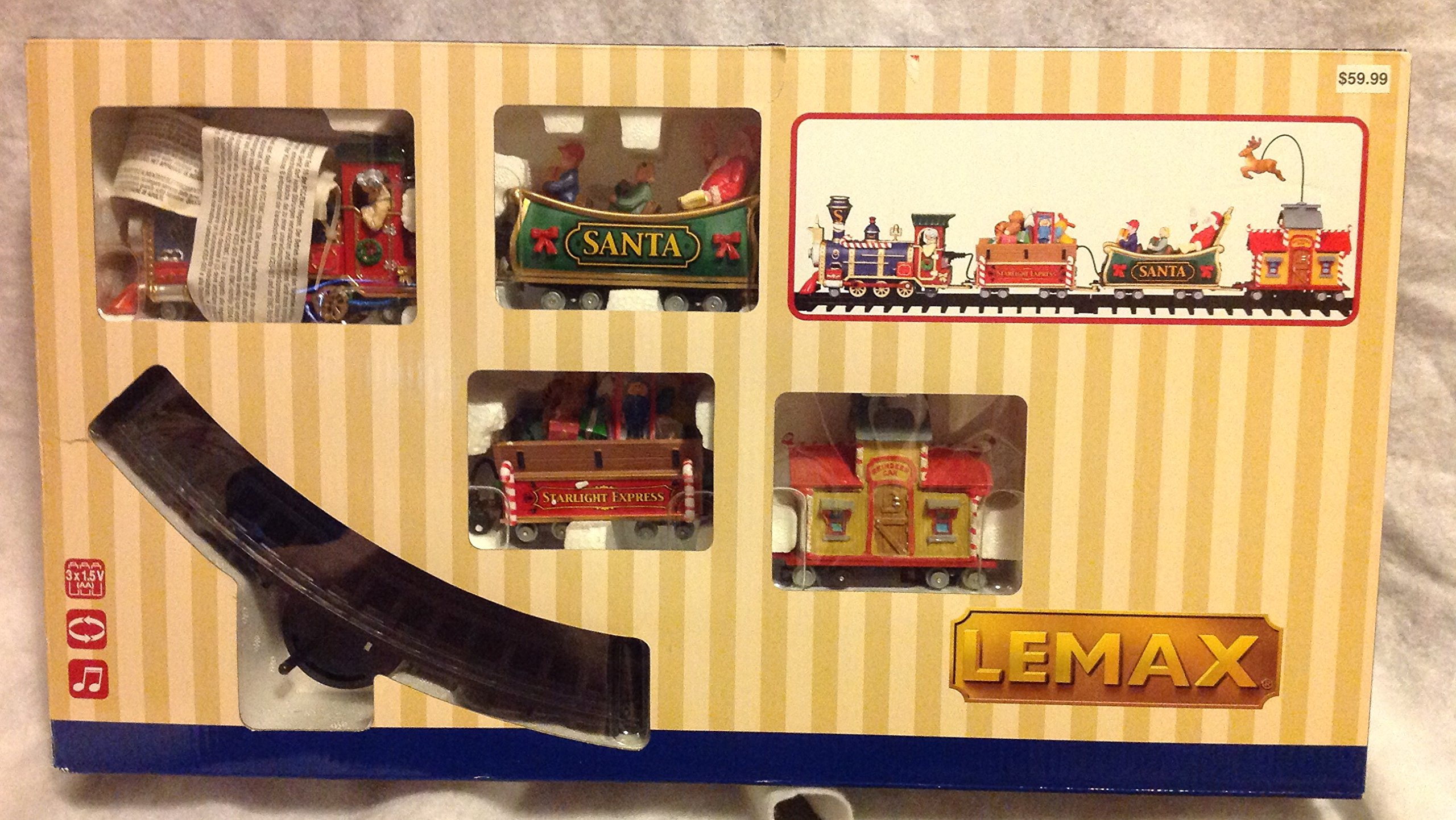 LEMAX at The Neighborhood Corner Store LEMAX CHRISTMAS VILLAGE THE STARLIGHT EXPRESS