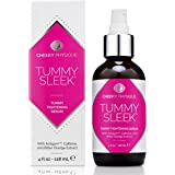 Tummy Sleek Tummy Tightening Serum - Skin Firming & Body Toning Gel for Abs and Waist with Actigym + Caffeine + Bitter Orange Extract - 4 oz.