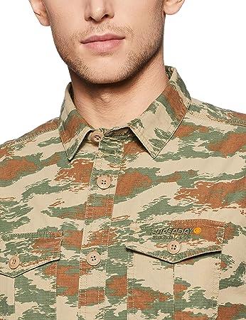 Superdry Camisa Rookie Parachute Camo Hombre