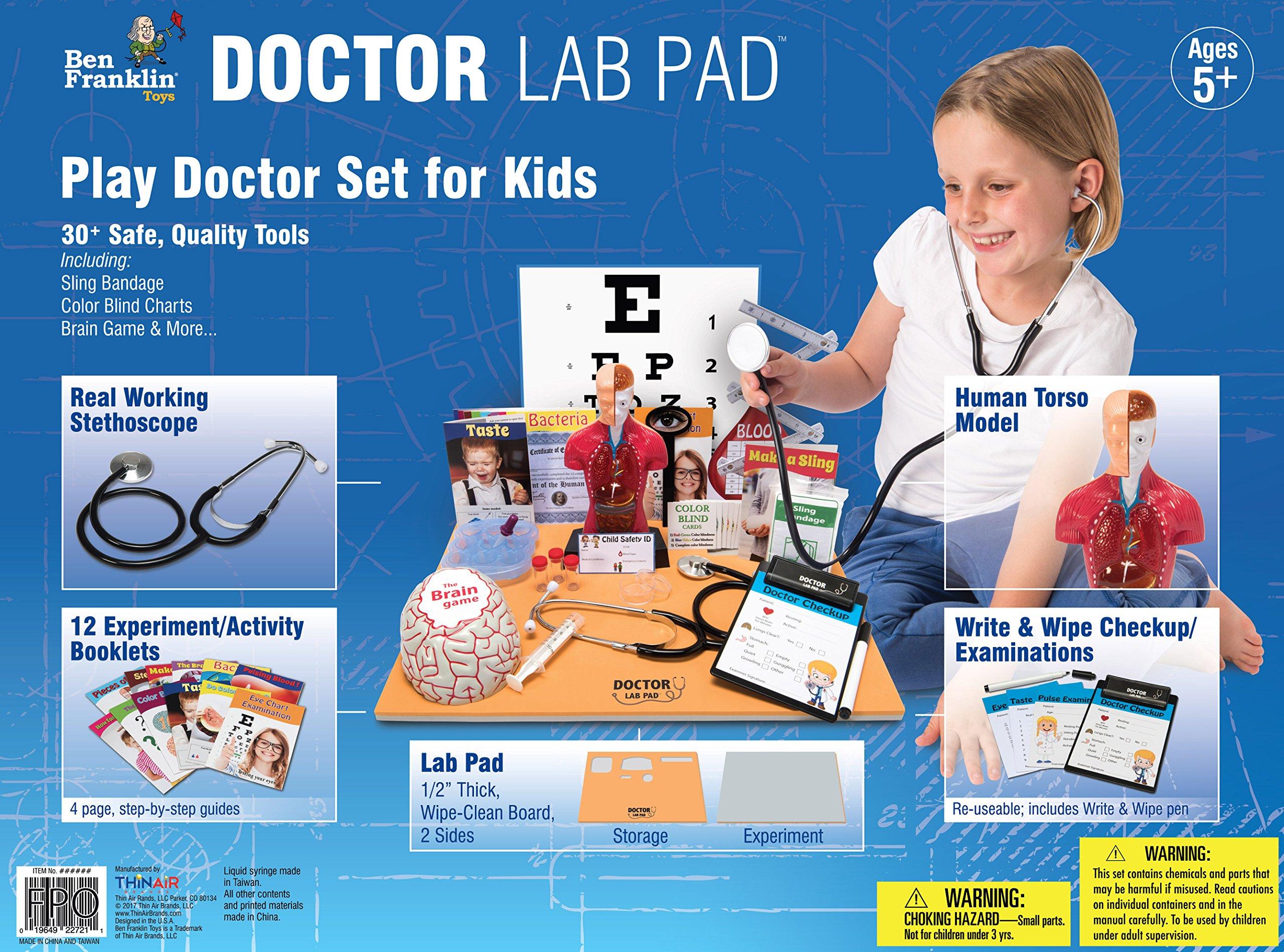 Ben Franklin Toys Doctor Lab Pad Biology Kit by Ben Franklin Toys (Image #3)