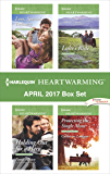 Harlequin Heartwarming April 2017 Box Set: Love, Special Delivery\Holding Out for a Hero\Luke's Ride\Protecting the Single Mom
