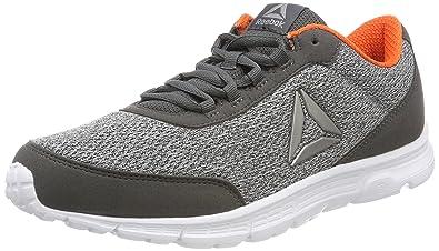 Reebok Men s Speedlux 3.0 Running Shoes Grey Black EU Grigio (Alloy Stark  Grey 3ddb120b6