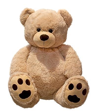 Large Teddy Bear XXL 100 cm Plush Soft Cuddly Toy with Cuddly Bear ...