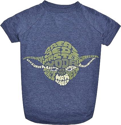 Star Wars Dog Shirt for Small Dogs X-Small Blue Star Wars for Pets FF11807 Yoda Wisdom Dog Tee