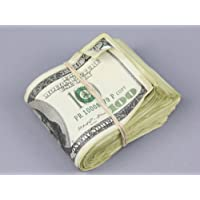 PROP MONEY Real Looking AGED Copy $100s FULL PRINT Fat Fold - Total $10,000 for Movie, TV, Videos, Advertising & Novelty