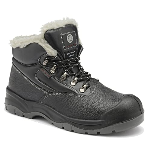 1314b6c255 Zephyr Z001F S3 SRC Mid Cut Composite Toe Cold Work Thermal Winter Safety  Boots (UK