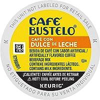 Café Bustelo Café con Dulce de Leche Flavored Espresso Style Coffee, 10 Count (Pack of 6)