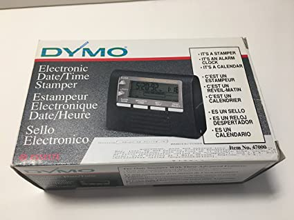 Amazon Com Dymo Datemark Electronic Date Time Stamper