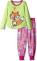 Komar Kids Big Girls' Smarty Fox 2pc Sleepwear Set
