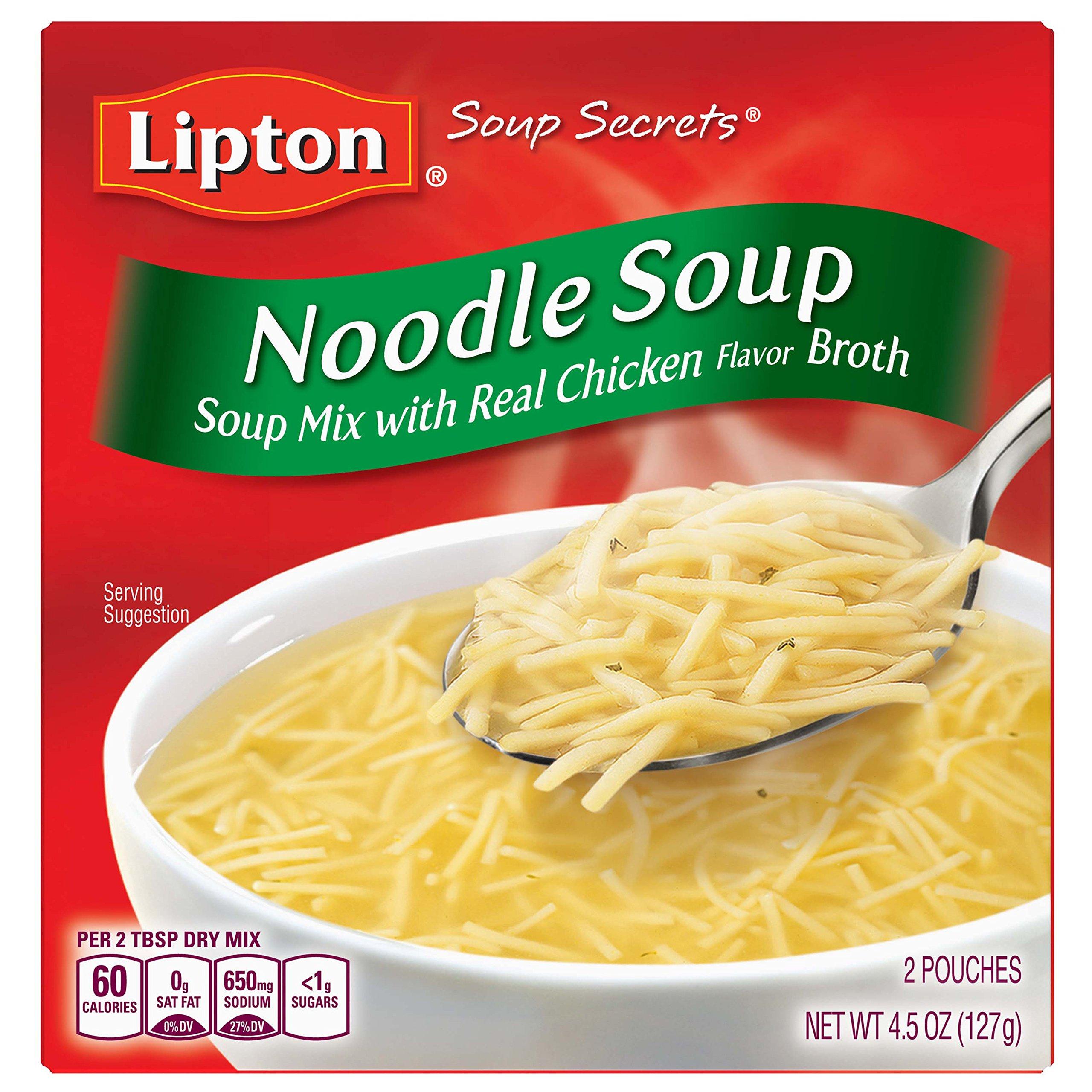 Lipton Instant Soup Mix, Noodle, 4.5 oz
