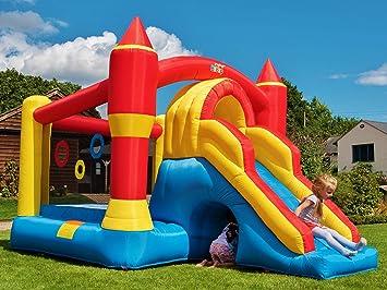 BeBop Ultimate Combo Large Castillo Inflable para niños y tobogán ...