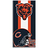 The Northwest Company NFL Unisex NFL Zone Read Beach Towel, 30-inch by 60-inch