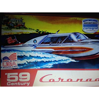 1959 Century Coronado Boat Model: Toys & Games