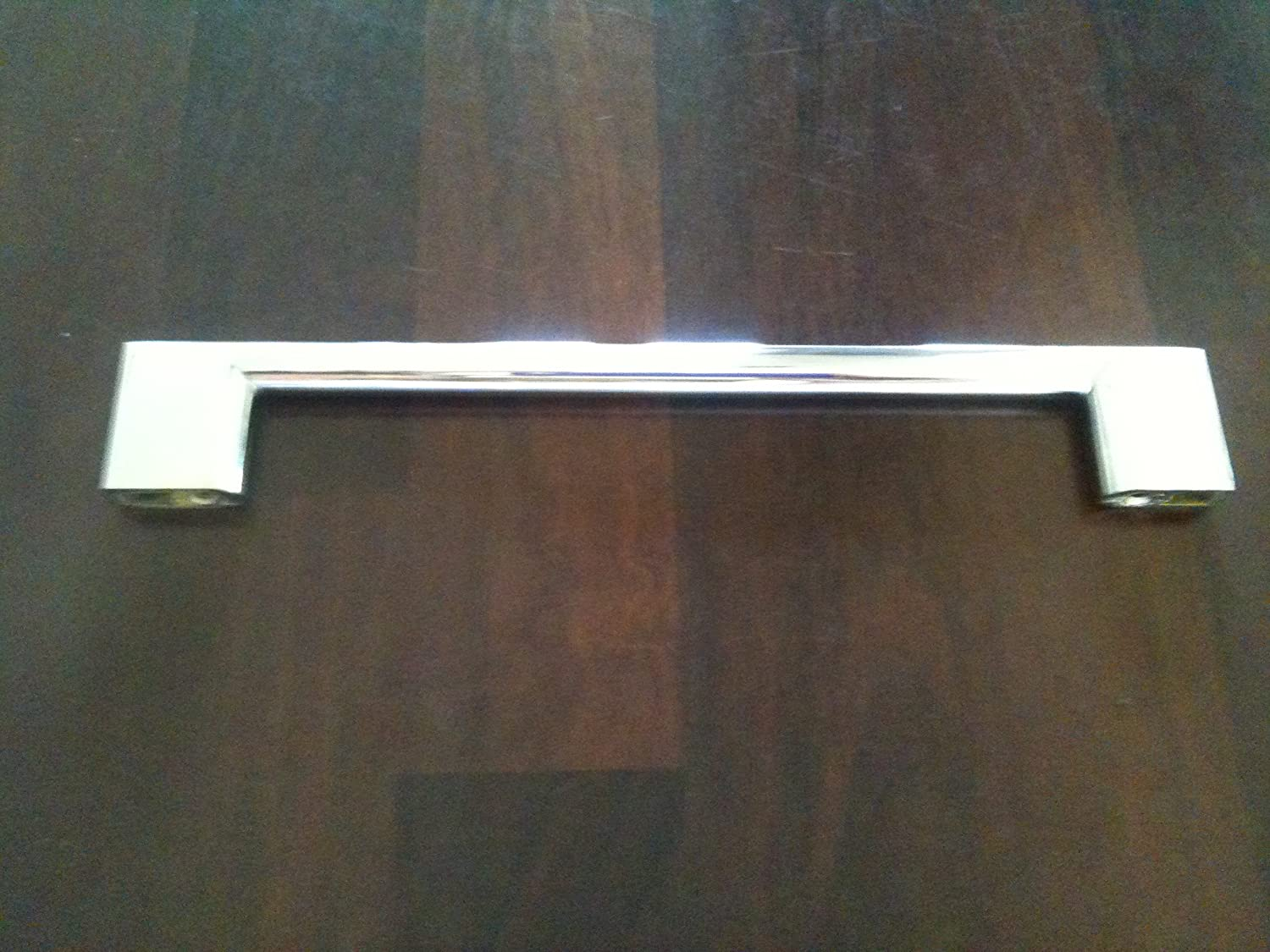SLIMLINE KITCHEN CABINET CUPBOARD DOOR DRAWER HANDLE POLISHED CHROME BAR HANDLES